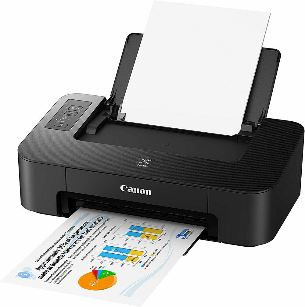 Canon Color Printer Photo Compact Borderless Black Inkjet (ink not included)