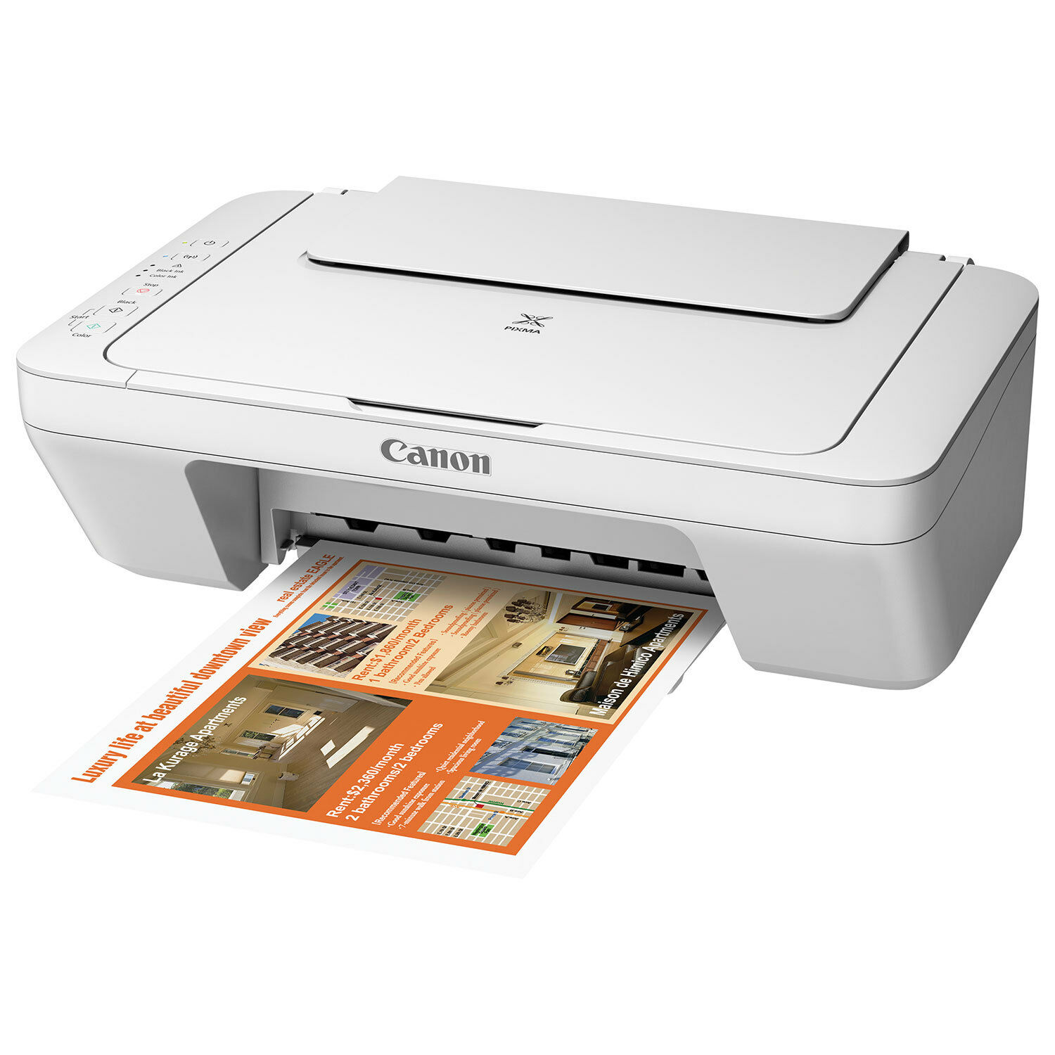 Canon Pixma MG 2920 Wireless Inkjet All-in-One No Ink Cartridge Included